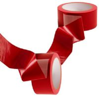 Red Coloured Low Noise Polypropylene Packaging Tape 48mm x 66m